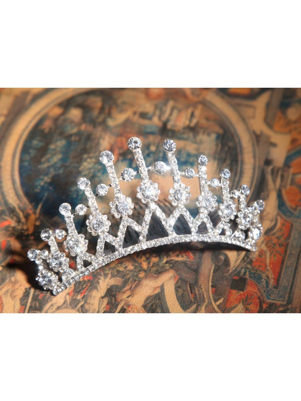 Alloy Clear Crystals Wedding Headpieces