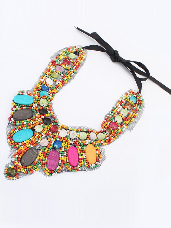 Occident Exotic Personality Retro Hot Sale Necklace-11