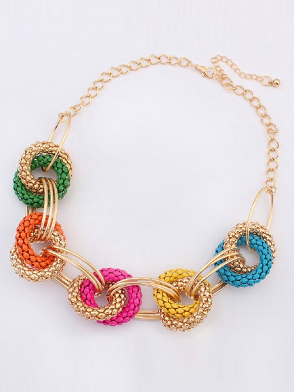 Occident Hyperbolic Retro Exotic Geometry Hot Sale Necklace