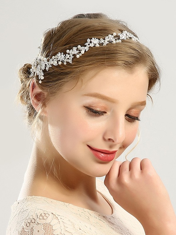 Bright Czech Pearl Headpieces